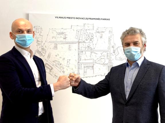 """Lietuvišką Covid-19 antikūnų testą išvysčiusi UAB """"Imunodiagnostika"""" kursis Vilnius miesto inovacijų pramonės parke"""