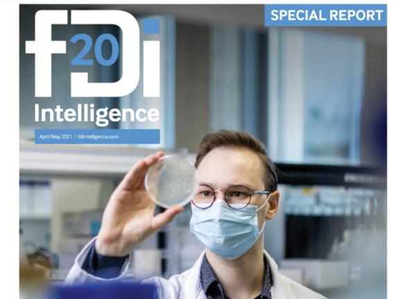 VCIIP inicijuotas specialusis pranešimas Financial Times komandos leidžiamame žurnale fDi Intelligence