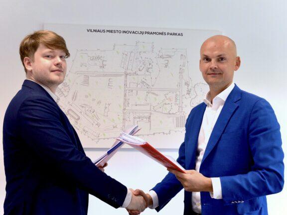 """Įsikūrimą Vilniaus miesto inovacijų pramonės parke pradeda sintetinės biologijos srityje veikiantis startuolis UAB """"Gensinta"""""""